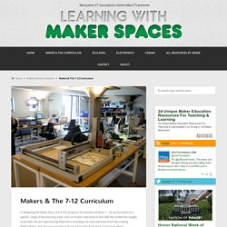 MacICT's Learning With Maker Spaces