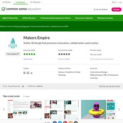 Makers Empire Review for Teachers