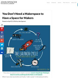 You Don't Need a Makerspace to Have a Space for Makers – John Spencer