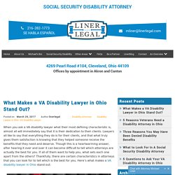 What Makes a VA Disability Lawyer in Ohio Stand Out?