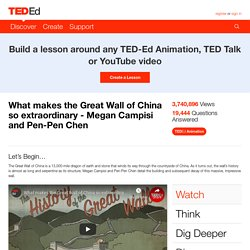What makes the Great Wall of China so extraordinary - Megan