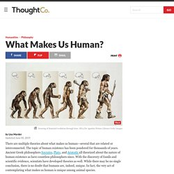 What Makes Us Human? 11 Important Features