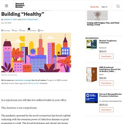 """What Makes an Office Building """"Healthy"""""""