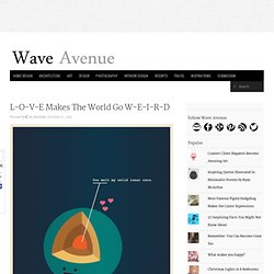 L-O-V-E Makes The World Go W-E-I-R-D (11 Photos) - wave avenue - StumbleUpon