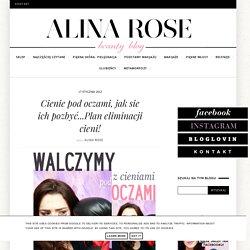 Alina Rose Makeup Blog: Cienie pod oczami, jak sie ich pozbyć...Plan eliminacji cieni!