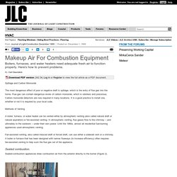 Makeup Air For Combustion Equipment - JLC Online Page 2 of 4