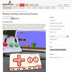 MaKey MaKey Advanced Guide