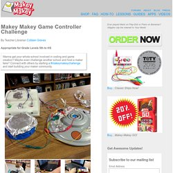 Makey Makey Game Controller Challenge