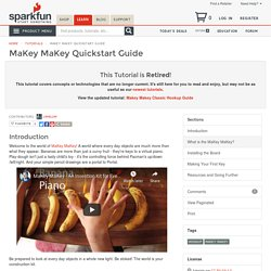 MaKey MaKey Quickstart Guide