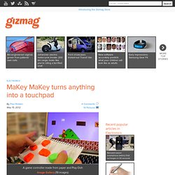 MaKey MaKey turns anything into a touchpad