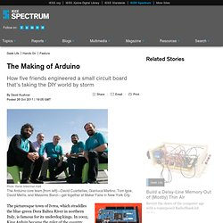 The Making of Arduino