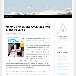 Making Things See Available for Early Release