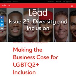 Making the Business Case for LGBTQ2+ Inclusion