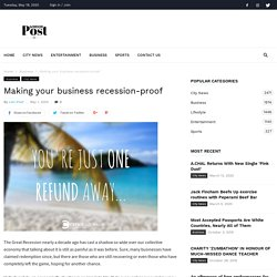 Create Australia - Making your business recession-proof - London Post