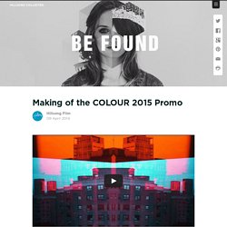 Making of the COLOUR 2015 Promo