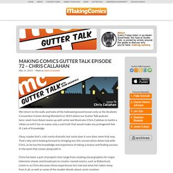 Making Comics Gutter Talk Podcast