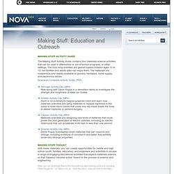 Making Stuff: Education & Outreach