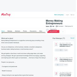 Money Making Entrepreneurs (Sydney)