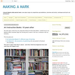 Art Instruction Books: 10 years after