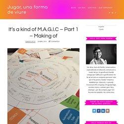 It's a kind of M.A.G.I.C – Part 1 – Making of - Jugar, una forma de viure - Imma Marín