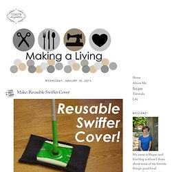 Make: Reusable Swiffer Cover