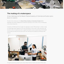 The making of a makerspace