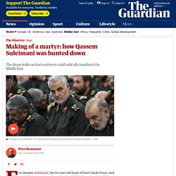 Making of a martyr: how Qassem Suleimani was hunted down