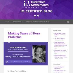 Making Sense of Story Problems - IM CERTIFIED BLOG