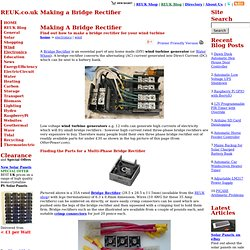 Making a Bridge Rectifier - Electronics
