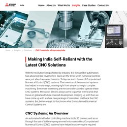 Making India Self-Reliant with the Latest CNC Solutions