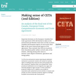 Making sense of CETA (2nd Edition)