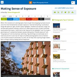 Making Sense of Exposure