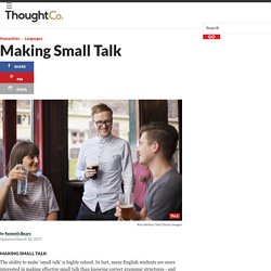 Making Small Talk for English Learners