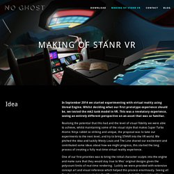 Making of STANR VR — No Ghost