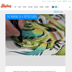 The Making of a Tattoo Flash & Illusion & The Most Amazing Creations in Art, Photography, Design, and Video. - StumbleUpon