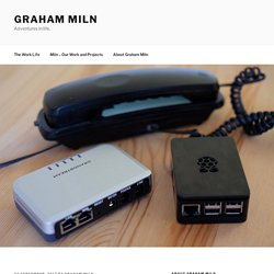 Making the Phone Vanish - Telephone Calls via an HT-503 and Raspberry Pi - Graham Miln