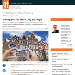 Making the Top Smart City in Europe