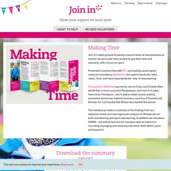 Making Time - Join In