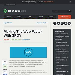 Making The Web Faster With SPDY