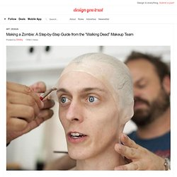 "Making a Zombie: A Step-by-Step Guide from the ""Walking Dead"" Makeup Team"