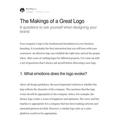 The Makings of a Great Logo - BOLD by Pixelapse