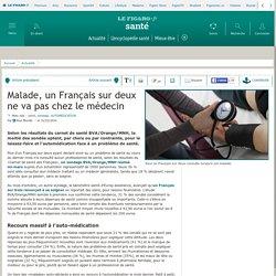 Malade, un Français sur deux ne va pas chez le médecin