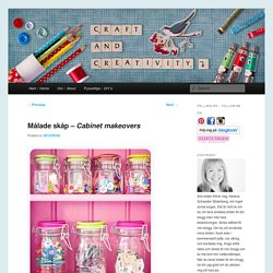 Målade skåp – Cabinet makeovers