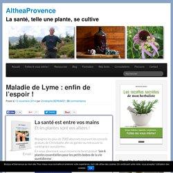 Maladie de Lyme : enfin de l'espoir !