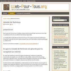 Maladie de Parkinson - Web-pour-tous.org