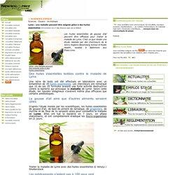 Lyme : une maladie pouvant être soignée grâce à des huiles essentielles