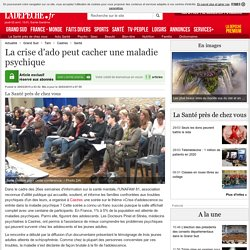 La crise d'ado peut cacher une maladie psychique - 30/03/2015 - LaDepeche.fr