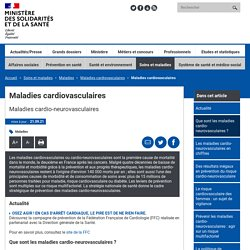 MINISTERE - Maladies cardiovasculaires