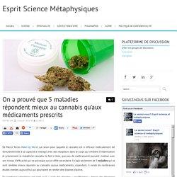 5 maladies répondent mieux au cannabis