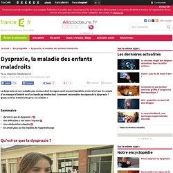 Dyspraxie, la maladie des enfants maladroits : Enfant : Bonjour docteur